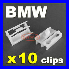 BMW SIDE SILL SKIRT TRIM CLIPS E36 E46 E90 E91 3 Series EXTERIOR WHITE PLASTIC