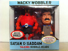 FUNKO SOUTH PARK SATAN & SADDAM TALKING BOBBLE HEAD WACKY WOBBLER SET BRAND NEW