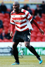 Doncaster Rovers F.C Shelton Martis Hand Signed 11/12 Photo 12x8 2.