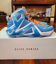 "Nike LeBron XII 12 Elite ""Elevate"" 724559-488 Size 10.5 New DS"