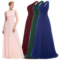 CHEAP~ Chiffon Long Bridesmaid Cocktail Evening Prom Dress Maxi Formal Ball Gown
