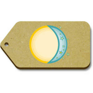 'Sun, Moon & Stars' Gift / Luggage Tags (Pack of 10) (TG020662)