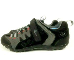 Women's Taho MTB Cycling Biking Shoes 6127-1044 Black Gray Specialized US 10.5