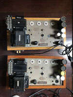 Two WEBSTER ELECTRIC Tube Amplifiers model WSA 230 -200w/monoblock