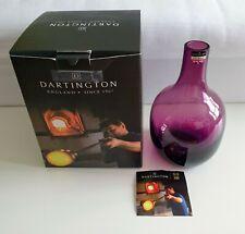 Dartington Crystal Aurora Large Vase Amethyst VA3223 Brand New Boxed