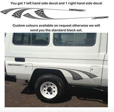 TOYOTA LANDCRUISER  TROOPY DECALS. Copied from an original set