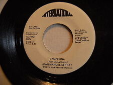 rare JOAN MANUEL SERRAT 1975 promo CAMPESINA/DE PARTO FaniaInternational MINT*