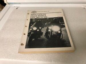 Late 1984-1990 Harley Davidson Police Models H-D Part # 99545-90