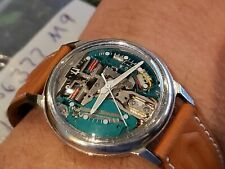 BULOVA ACCUTRON 1969 SPACEVIEW Watch Stainless Steel 214 Bulova shop find