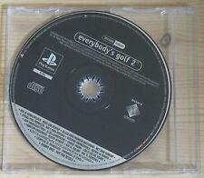 Everybody's Golf 2 - Promo Gioco Completo - New - PlayStation 1 - PSX