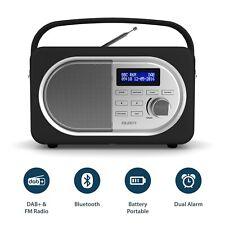 Shelford II Compact Portable Digital DAB+ / DAB FM Radio Bluetooth Kitchen Black