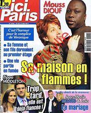 Ici Paris 3436 – 10/05/2011 Mouss Diouf Genest Amaury Vassili Pisier Middleton