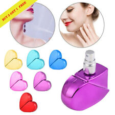 Heart Shaped Glass Perfume Bottle with Spray Refillable Empty Perfume Atomizer *