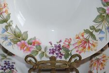 """VTG ENGLAND PARAGON COUNTRY LANE SOUP COUPE PLATE SCALLOPED EDGES FLORAL 9 1/8"""""""