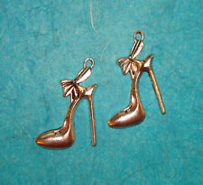 Pendant Stiletto Shoe Charm Spike Heels Charm Shoes Charm Fashion Charm DIVA