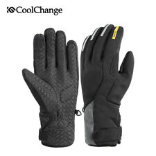 Windproof Full Finger Cycling Gloves MTB Road Bike Motorbike Gel Winter Gloves