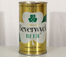Beverwyck •Irtp Golden Dry• Flat Top Beer Can Albany, New York Ny Shamrock Irish