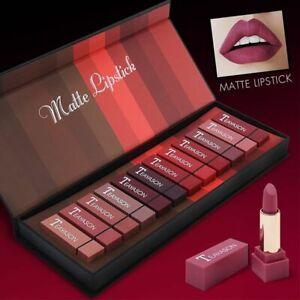 12pcs Ultra Velvet Matte Lipstick Set  Sexy Lips Contour Beauty Make up Cosmetic