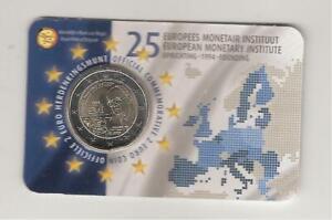 2 euros commemorative belgique 2019 institut monetaire europeen version flamande