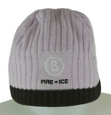 Bogner Fire + Ice Mütze M Damen,  in Strick rosa, braun wie neu