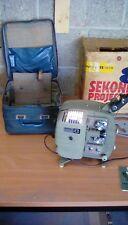 SEKONIC 8 original Projector with box,carry case etc Rare item