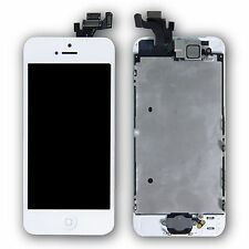 SAVFY for iPhone 5 White LCD Full Assembly Touch Screen Digitizer Replacement