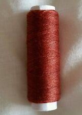 NUOVO di alta qualità marrone cioccolato 180m di cotone per cucire per macchine a mano o