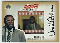 Daredevil Seasons 1 & 2 Film Cel Autograph FC-UR Vondie Curtis-Hall Ben Urich