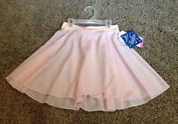 Girls Large 12-14 Pink Wrap Style DANCE Skirt NWT !