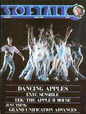 1984 Softalk Magazine: Dancing Apples/Exec Sensible/Apple II Mouse/Unification