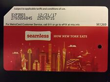 """Seamless"" MTA Metrocard, Collectible Expired Metrocard With No Value"