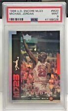 Michael Jordan 1998-99 UD Encore MJ23 Insert #M20 - PSA 9 Mint - pop 2 - BULLS