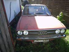 Audi 80 GL 1976, Vier Auge km ca. 160 000, Vollrestaurierung oder Teilespender