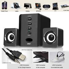 Mini USB Wired Computer Speaker Stereo Subwoofer Soundbox for Desktop Laptop PC