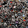 Onyx & Mixed Gemstone Wholesale Lot 925 Sterling Silver Plated Handmade Rings