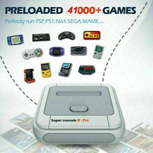 Super Console X PRO 4K Wifi HDMI TV Box Wireless Video Game Emulator Controller