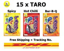15 x Taro Mix Snack Hot Chili Spicy Bar-B-Q Flavor Healthy Thailand 25 g Halal