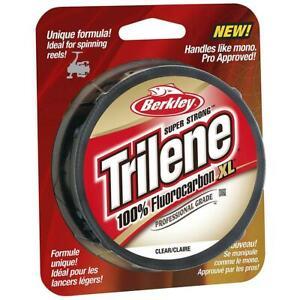 Berkley Trilene 100% Fluorocarbon XL 50m and 100m Spools *ALL SIZES*