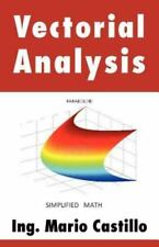 Vectorial Analysis by Mario Castillo (2012, Paperback)