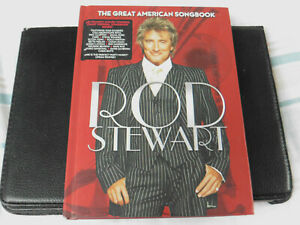 ROD STEWART - THE GREAT AMERICAN SONGBOOK - 4CD - BOOK EDITION - 2012 CD
