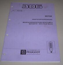 Werkstatthandbuch Peugeot 306 Motor Kraftstoffeinspritzung NFZ TU5JP Z L L3 1996