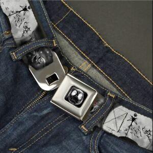 Buckle Down Seatbelt Belt - Jack Skellington Nightmare Before Christmas Made USA