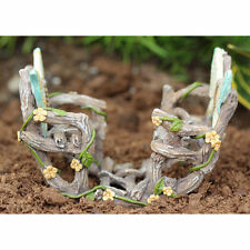 Miniature Fairy Garden DOUBLE BUTTERFLY ROCKER (NEW)