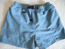 Womens THE NORTH FACE Shorts Teal BLUE NYLON Hiking OUTDOOR Fitness Sz MEDIUM