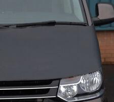 Black Front Bonnet Bra / Protector To Fit Volkswagen T5 Transporter (2010-15)