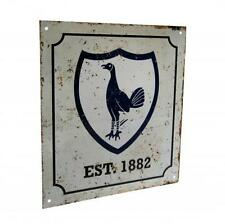 Tottenham Hotspur F.C. Retro Logo Sign Official Merchandise