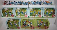 Schleich Puffi Puffo Smurf Smurfs 65 pezzi differenti Schleich nuovi perfetti!!