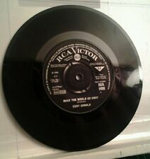 "Eddy Arnold, Make the World Go Away, 7"" single, 1965."