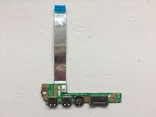 Asus X502C X502CA AUDIO USB Card Reader Port board con cavo 60NB00I0-IO1090