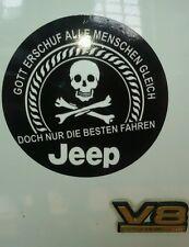 Aufkleber Jeep CJ Grand Cherokee Wrangler YJ TJ ZJ JK JKU KJ WJ WG ZG Fanartikel